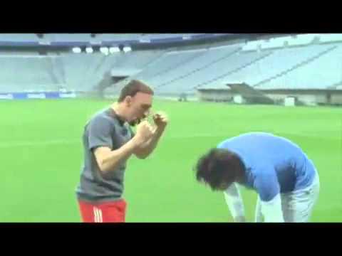 Luca Toni Vs. Ribery