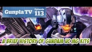 Gunpla TV - 113 - A Brief History Of Gundam UC MG Kits - 1/100 MG Jesta - Hlj.com