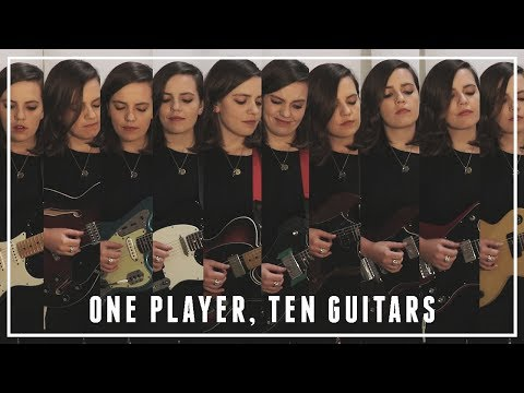 ONE PLAYER, TEN GUITARS