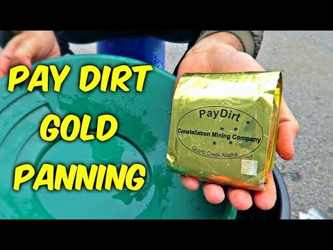 Pay Dirt Gold Panning