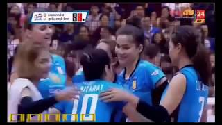 VolleyballThai Denmark Super League 2017 Supreme- Bangkok Glass