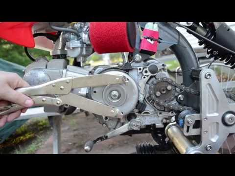 Motoped Headlight - CRF50, Ricks Stator, Trail Tech X2 & Regulator
