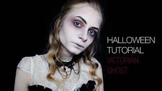Halloween Makeup Tutorial | Victorian Ghost | Dead Widow | Gothic | PIPMAKEUP