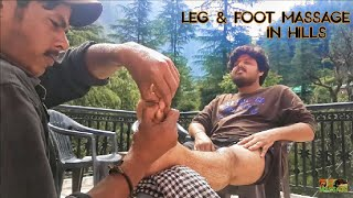 Best Indian Massage- Leg & Foot massage by Ravi | Part-2 | ASMR