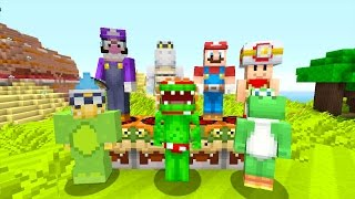 Minecraft Wii U - Mario Survival Madness - TRI-BURG IS BORN! [1]