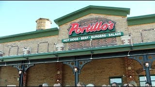 A day for the dogs: Portillo's celebrates grand opening