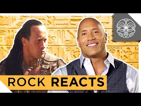 Xxx Mp4 The Rock Reacts To His First Leading Role In The Scorpion King 15 YEARS LATER 3gp Sex