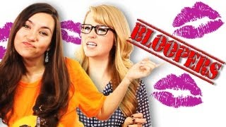 Bloopers Where 2 SourceFed Hosts Kiss!