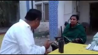 Sindh police from larkana sho v/s sho woman