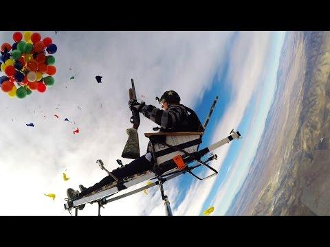 GoPro Shotgun Balloon Drop