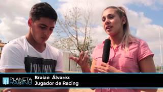 Planeta Racing TV:  Entrevista a Braian Álvarez.