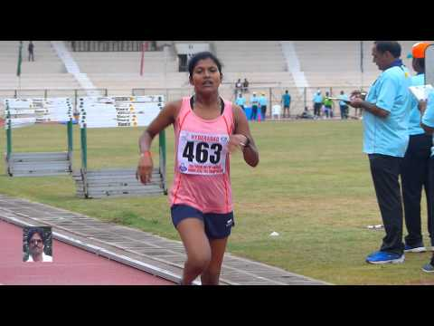 JUNIOR WOMEN'S 3000m Run.13th NATIONAL FEDERATION CUP Jr. ATHLETICS CHAMPIONSHIPS-2015