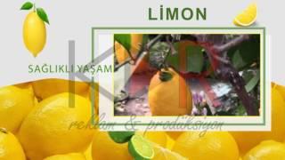 sağlıklı yaşam - limonun fayfaları