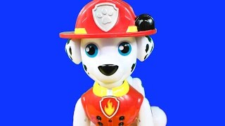 Nickelodeon Paw Patrol Marshall Zoomer Full Of Life Paw Pup Firefighter Marshall