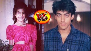 Jacqueline Fernandez VS Salman Khan - Transformation From 1 To 32 Years Old