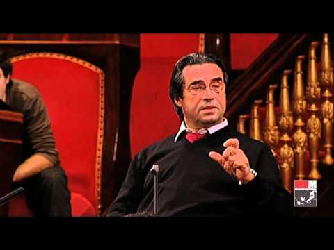 Riccardo Muti prova Verdi con l Orchestra Giovanile Cherubini in Senato