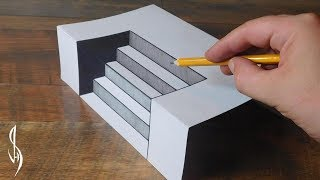 Ultimate Guide on How to Draw 3D Steps - Trick Art For Kids