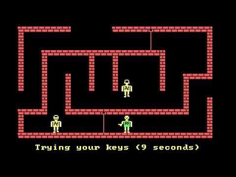 Castle Wolfenstein, PC DOS (1982) - Complete playthrough