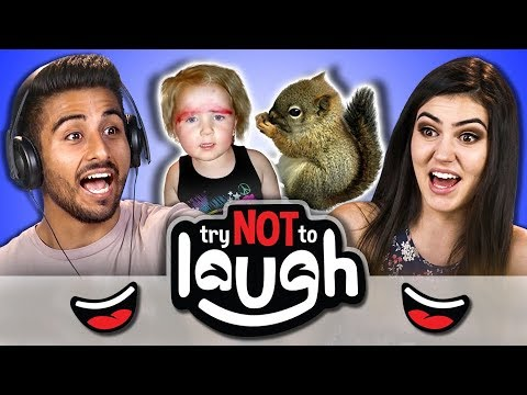 Try To Watch This Without Laughing or Grinning 65 REACT