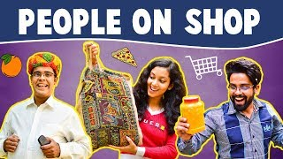 Types of People on SHOP   The Half-Ticket Shows