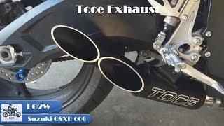 Top 9 Full Exhaust Sound Suzuki GSXR 600 / Yoshimura, Akrapovic, LeoVince GP, IXIL, M4, Arrow, Toce