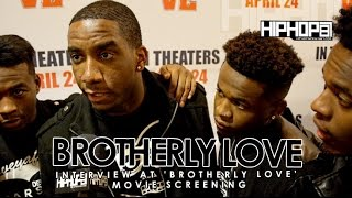 Brotherly Love (R&B Group) At 'Brotherly Love' Movie Screening in Philadelphia (3/31/15)