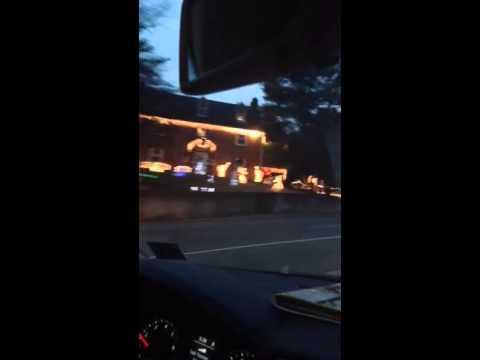Charlottesville Christmas lights