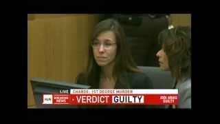Jodi Arias - The Verdict - Before and After