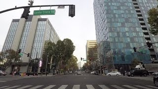 Driving In San Jose 4K - Silicon Valley - California, USA