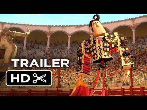 Xxx Mp4 The Book Of Life Official Trailer 1 2014 Channing Tatum Zoe Saldana Animated Movie HD 3gp Sex