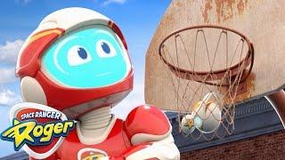Space Ranger Roger | Basketball Bot | 2017 Cartoons For Children | Cartoons For Kids