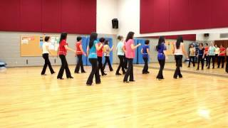 Rock and Roll Music - Line Dance (Dance & Teach in English & 中文)
