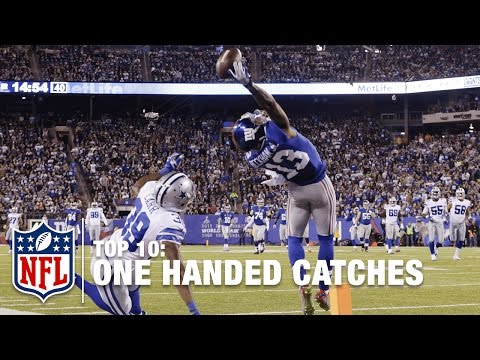 Top 10 One Handed Catches of All Time NFL