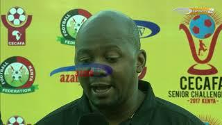 Azam TV - CECAFA 2017: Maelezo ya kocha wa Kilimanjaro Stars, Ammy Ninje 03/12/2017)