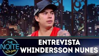 Entrevista com Whindersson Nunes   The Noite (19/03/18)