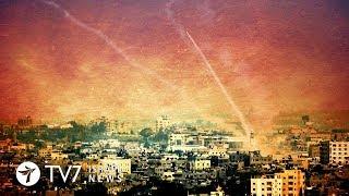 Gazan Palestinian launch a barrage of rockets toward Israel - TV7 Israel News 17.10.18