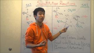 SN2 and SN1 Reactions Made Easy!  Part 2 - Products Prediction! - Organic Chemistry