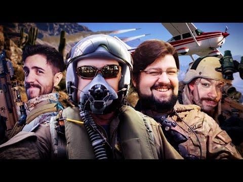 Tom Clancy s Ghost Recon Wildlands Azaghal O desvia míssil NerdPlayer 273
