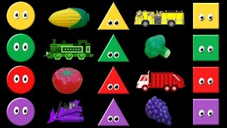 Colors Collection Volume 2 - Shapes, Colors, Vehicles, Fruit & Vegetables - The Kids