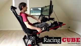 3DOF Racing Simulator - Test Drive (RacingCUBE)