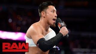 A fired-up Akira Tozawa wants a piece of Ariya Daivari: Raw, July 24, 2017