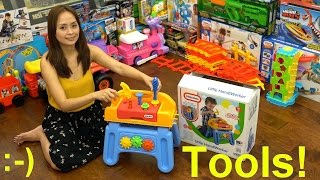 Educational Toys for Toddlers and Kids: Little Tikes Little Handiworker Tools Set Playtime