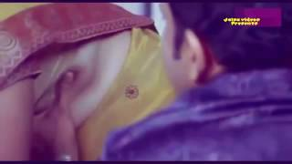 Telugu sweet actress hot neval and boob touching 7