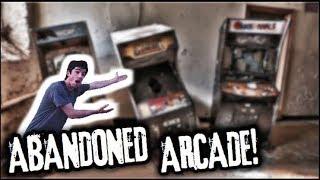 EXPLORING DEMOLISHED ABANDONED ARCADE!!