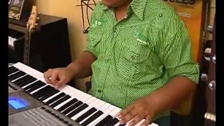 AMMA INSTITUTE SOHAR Student playing Jodi tor dak shune Bengali Song on Keyboard