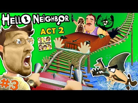 Xxx Mp4 ESCAPE HELLO NEIGHBOR PRISON FGTEEV ACT 2 Roller Coaster Shark Doll House Full Game Part 3 3gp Sex