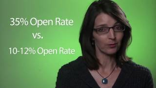 1-Minute Video Marketing Tip # 10 - How to Triple your Open Rate for Email Newsletters