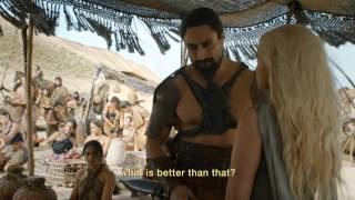 Game of Thrones Season 6: Episode #1 Clip - Daenerys meets Khal Moro (HBO)