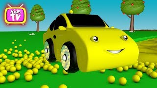 Learn colors with balls and cars