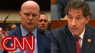 Whitaker clashes with lawmaker over donations
